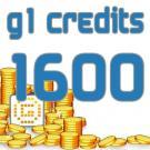 G1 Credits 1600